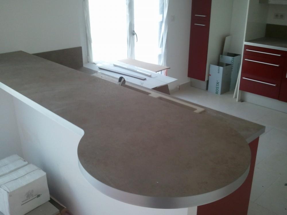 meuble cuisine avec plan de travail coulissant plan de. Black Bedroom Furniture Sets. Home Design Ideas