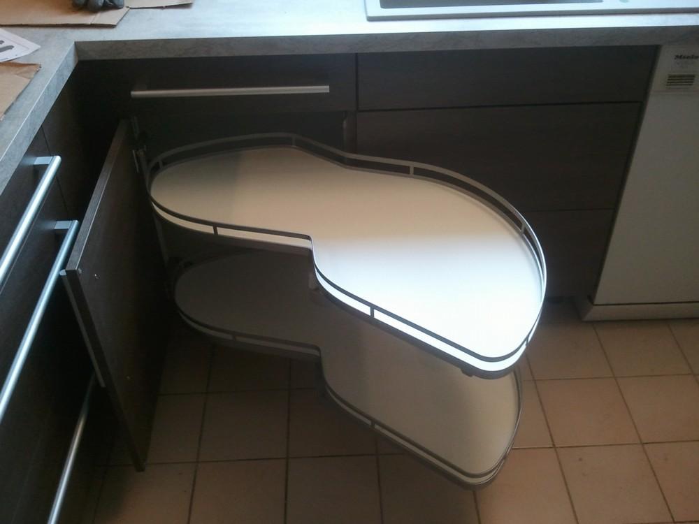 Bar sur mesure meuble hotte armoire picerie prise d 39 angle prise int gr e plan de - Meuble leman calais ...